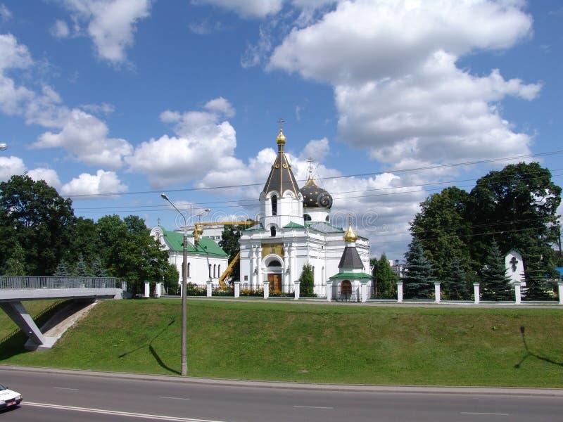 Belarussia minsk Chiesa del sepolcro santo Mary Magdalene immagini stock