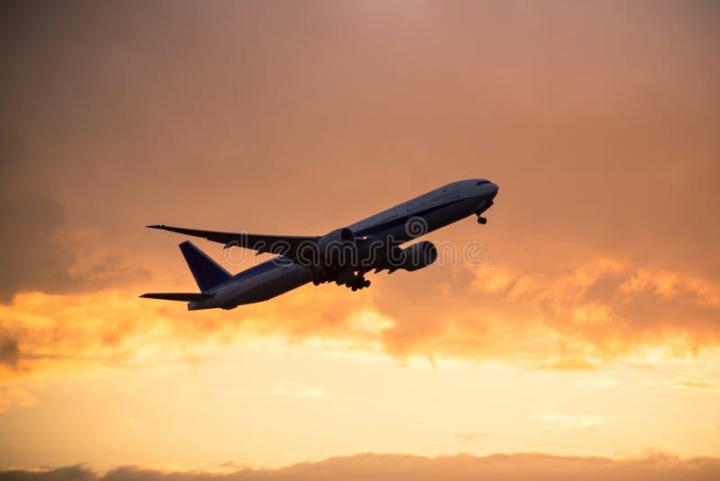 Belastend Vliegtuig stock fotografie