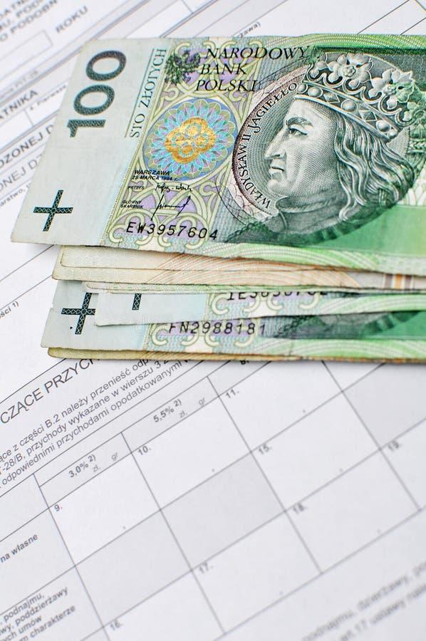 Belasting stock afbeelding