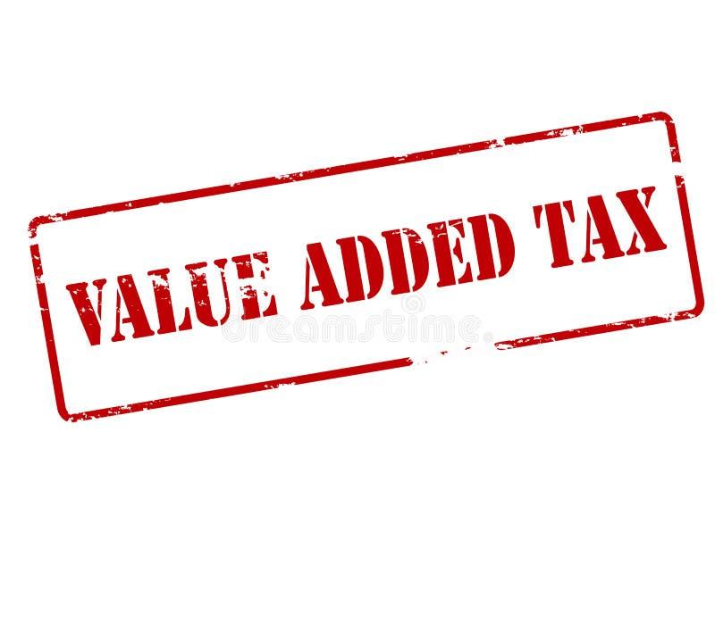 Belasting op de toegevoegde waarde royalty-vrije illustratie