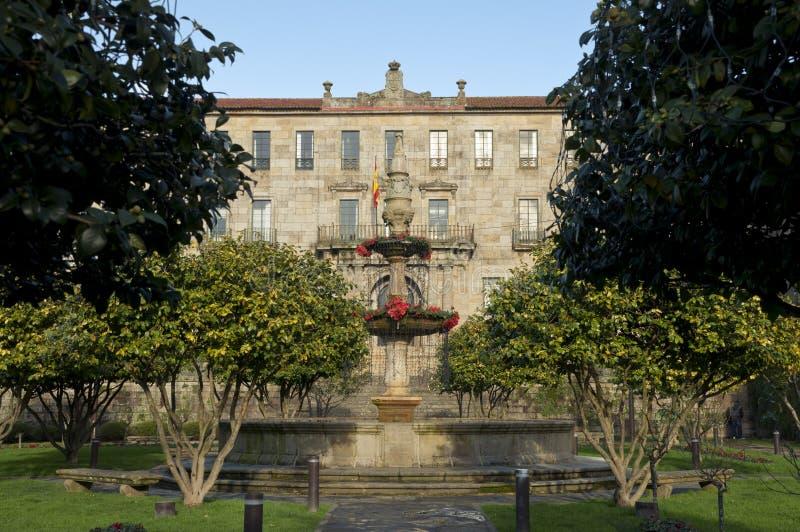Belastingdienst van Pontevedra stock fotografie