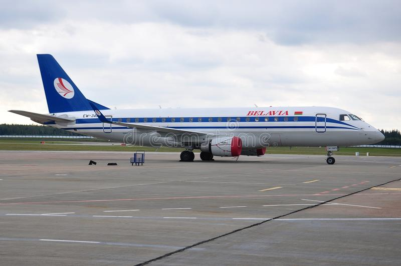 Belavia Airlines stock photo