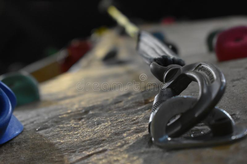 Belay On royalty free stock images