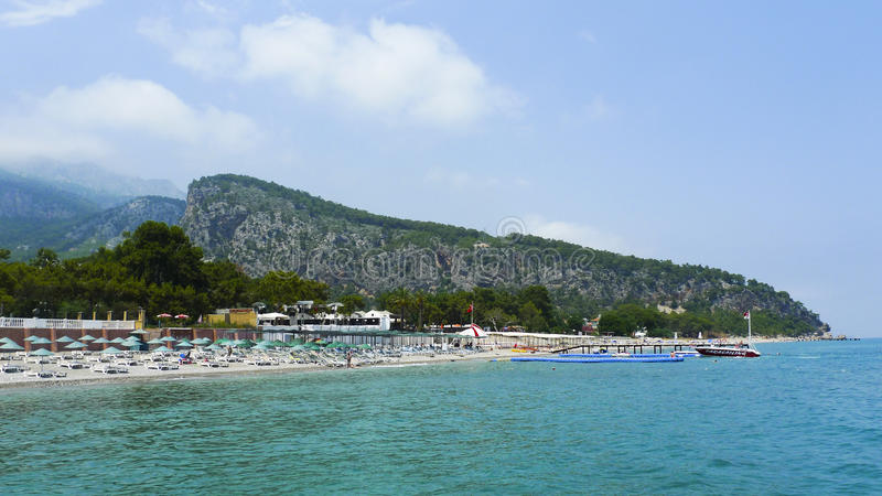 Beldibi, Turquie, été 2013 photo stock