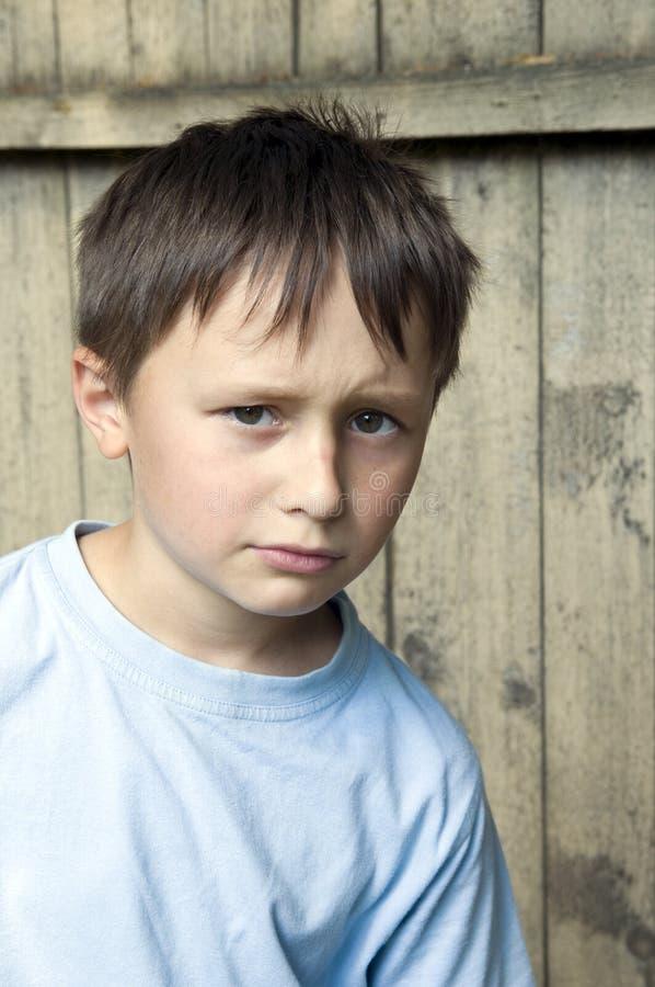 Beleidigtes Kind lizenzfreie stockfotos