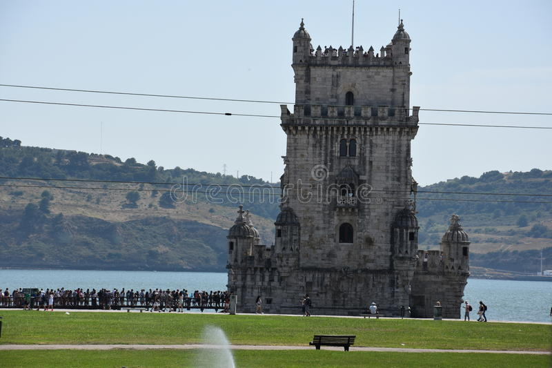 Download Belem lisbon portugal torn redaktionell foto. Bild av europeiskt - 76701790