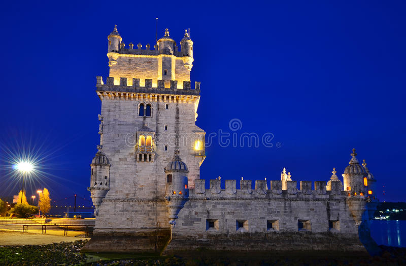 Download Belem Torre De Punkt Zwrotny Lisbon Portugal Obraz Stock - Obraz: 24274015