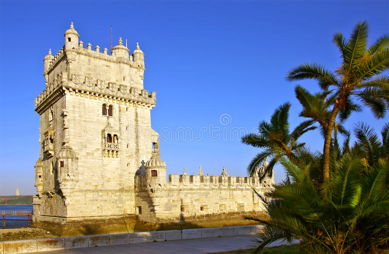 Download Belem Tower stock image. Image of architecture, detail - 20137657