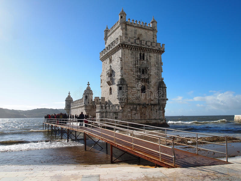 Download Belem Tower editorial stock photo. Image of europe, antique - 23175183