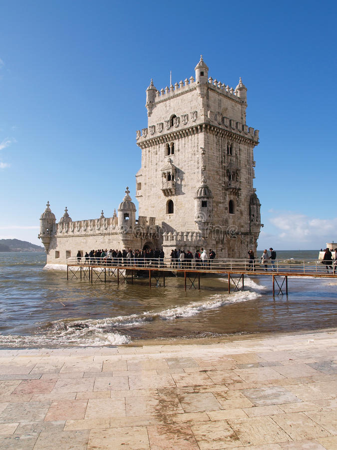 Download Belem Tower editorial photography. Image of monument - 23283832