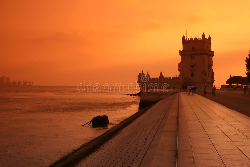 Download Belem Tower stock image. Image of famous, destinations - 2899779