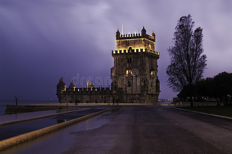 Download Belem Tower Fortress In Lisbon Stock Photo - Image: 30937876