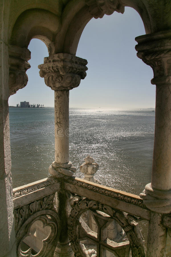 Download Belem Tower, Lisbon stock photo. Image of cathedral, attraction - 11157440