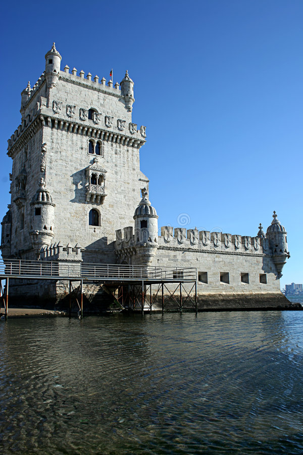 Download Belem Tower in Lisbon stock photo. Image of castle, destinations - 8531756