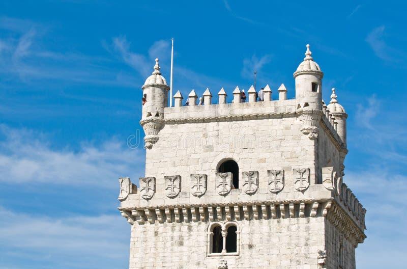 Download BELEM TOWER (Torre De Belem), Lisbon, Portugal Stock Image - Image: 7575903