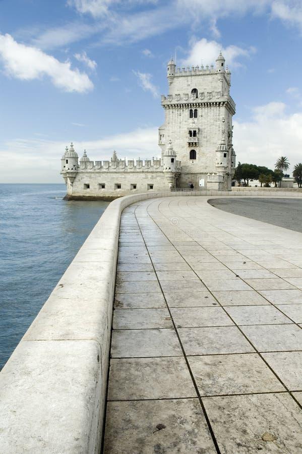 belem wieży fotografia royalty free