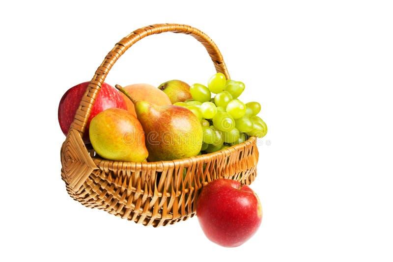 Belemmer met vruchten royalty-vrije stock foto's
