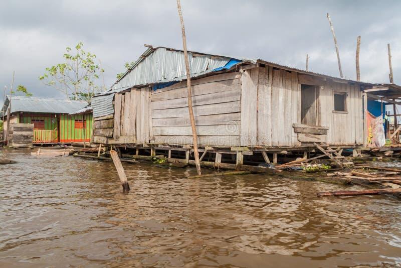Belen neighborhood of Iquitos stock images