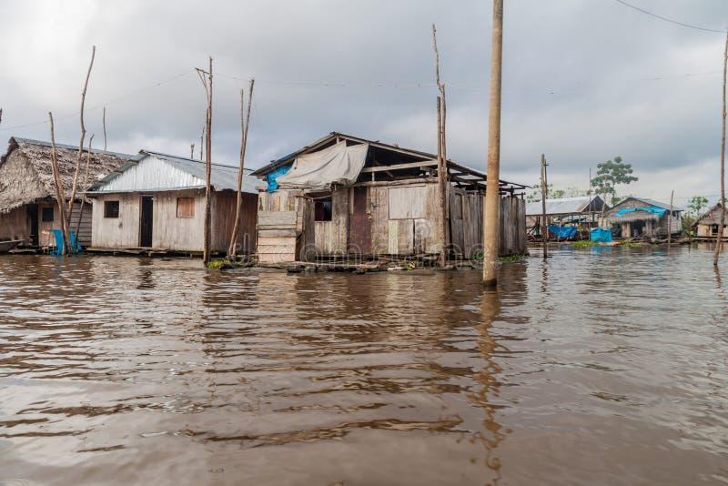 Belen neighborhood of Iquitos royalty free stock photo