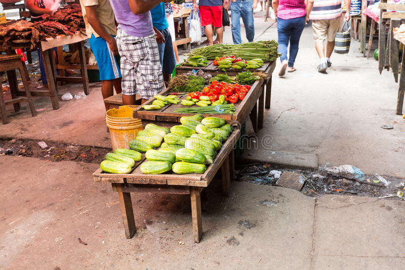 Belen rynek, Iquitos, Peru fotografia stock