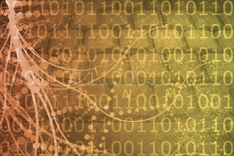 beletrystyczna sieci rzeczywistości nauka wirtualna royalty ilustracja