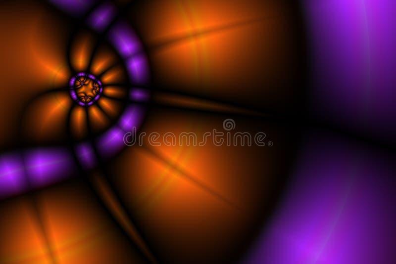Beleuchtet Hintergrund II lizenzfreie abbildung