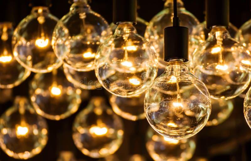 Beleuchtungs-Dekor stockfotos