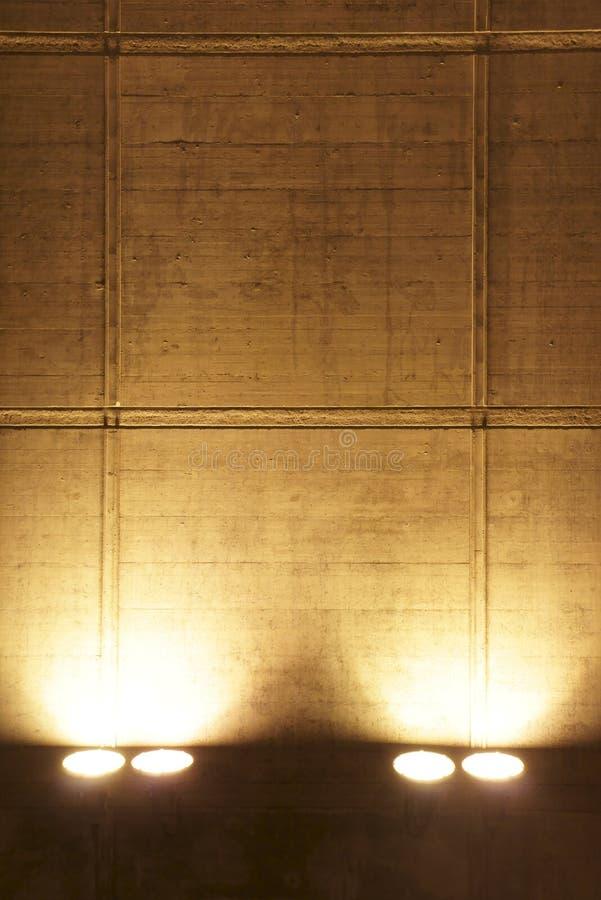 Beleuchtungwand stockfotos
