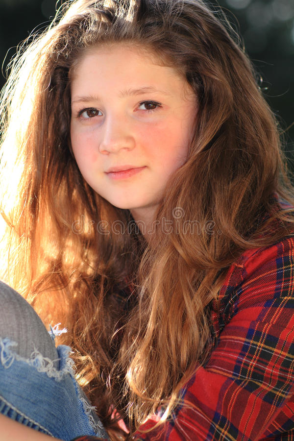 Beleza adolescente fotos de stock royalty free