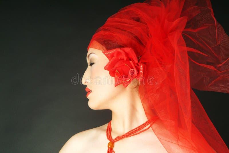 Beleza asiática imagem de stock royalty free