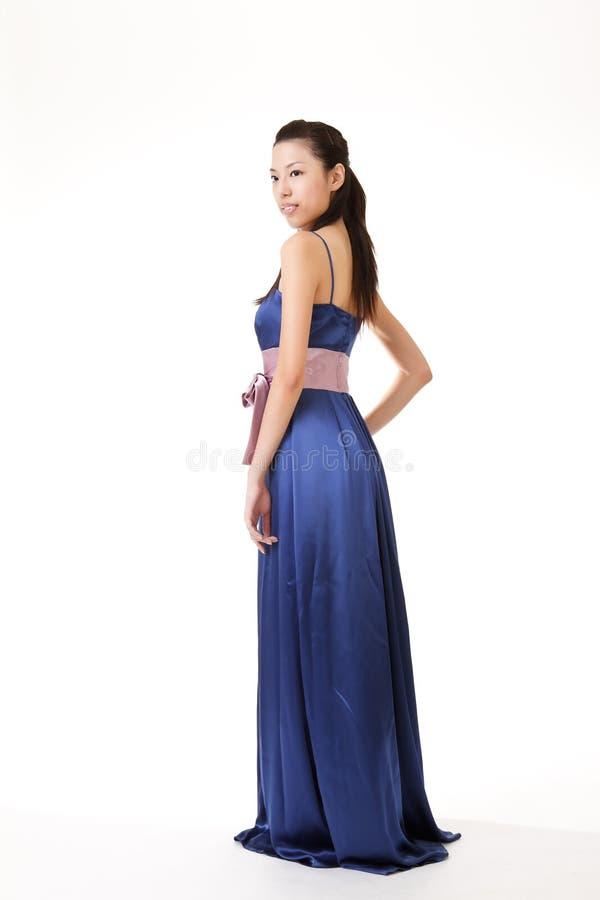 Beleza asiática elegante imagem de stock royalty free