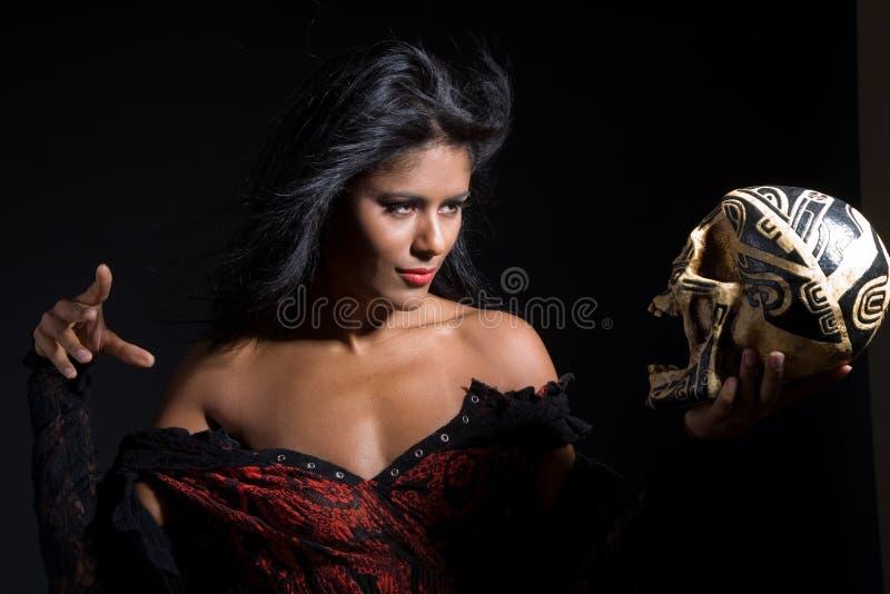 Beleza Bewitching fotos de stock royalty free