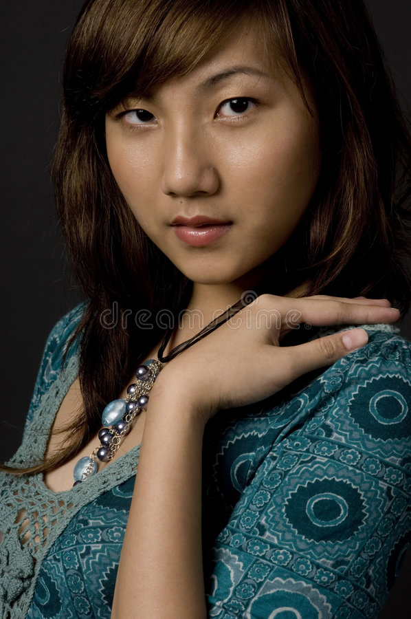 Beleza chinesa fotos de stock royalty free