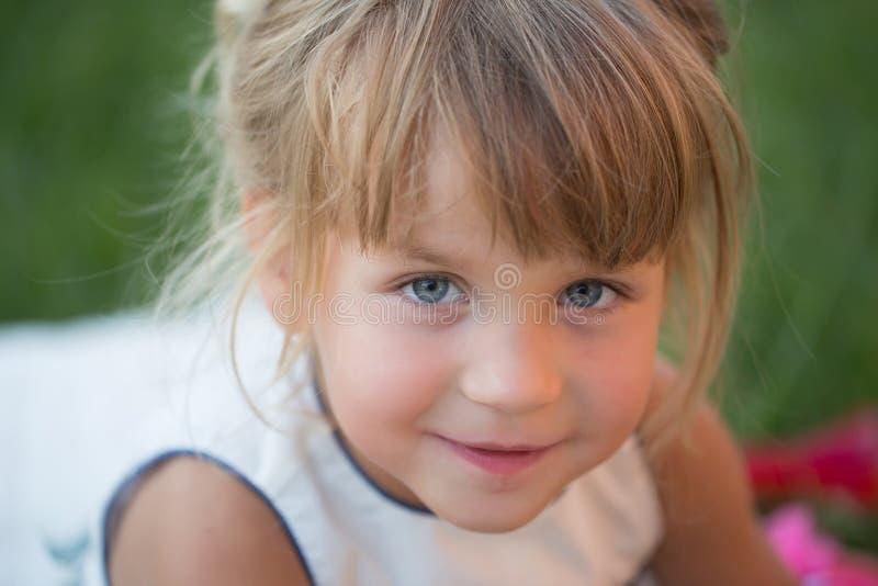 Beleza da criança, olhar fotos de stock royalty free