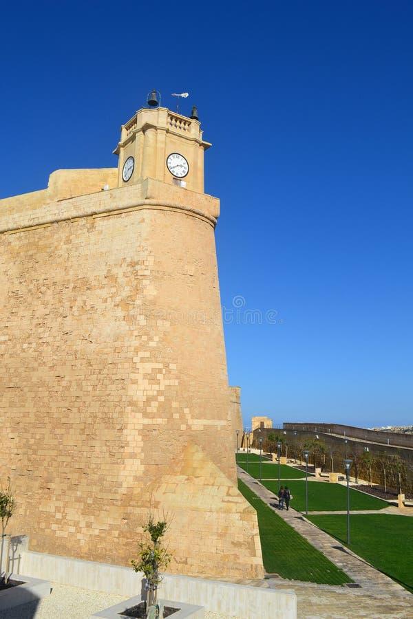 A beleza da história e da cultura Gozo em Malta imagens de stock royalty free