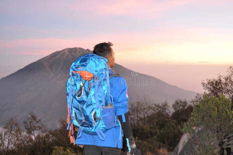 A beleza da montanha foto de stock