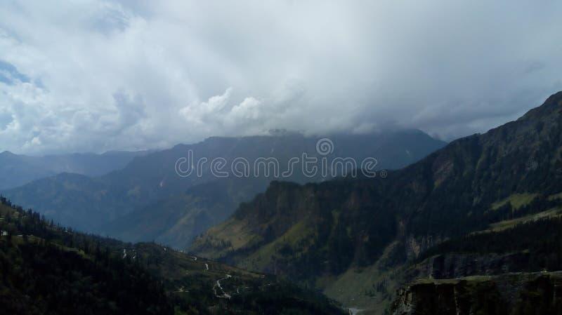 Beleza da montanha fotografia de stock