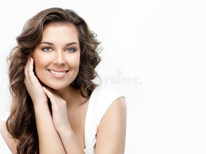 Download Beleza da mulher foto de stock. Imagem de adulto, menina - 12804964