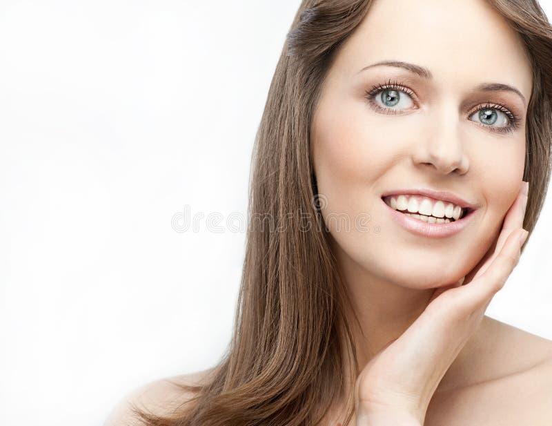 Download Beleza da mulher imagem de stock. Imagem de alegria, encanto - 12805105