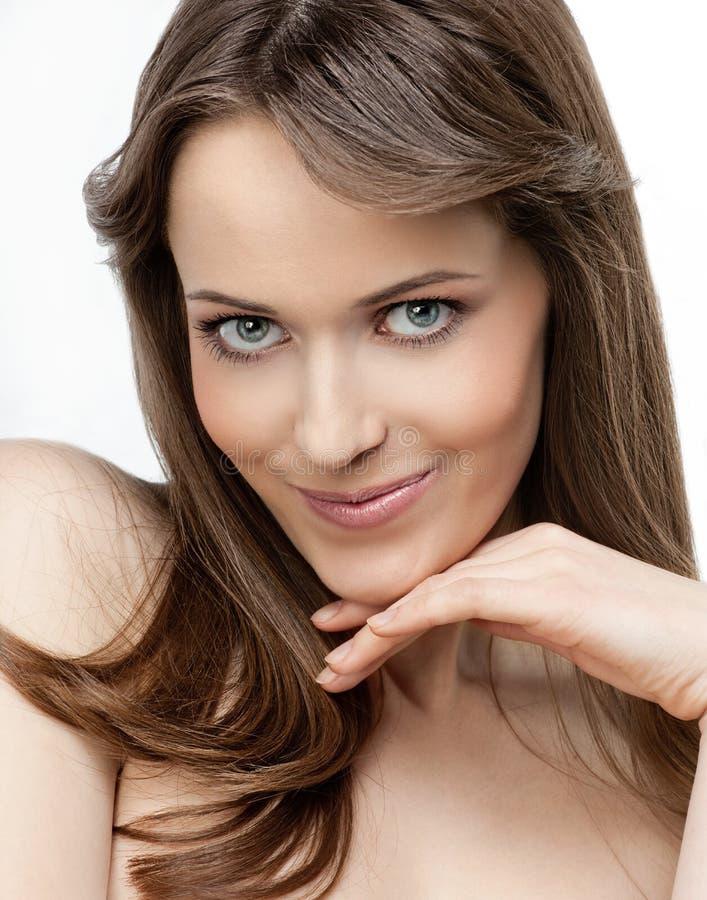 Download Beleza da mulher foto de stock. Imagem de feliz, pessoa - 12805162