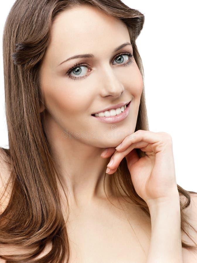 Download Beleza da mulher foto de stock. Imagem de romântico, modelo - 12805198