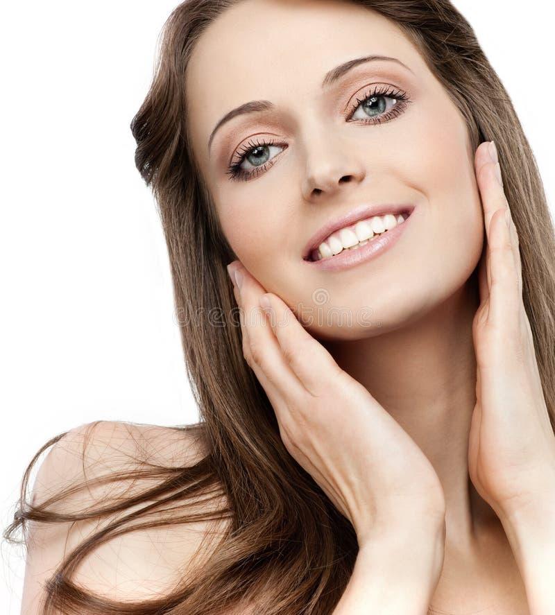 Download Beleza da mulher foto de stock. Imagem de povos, modelo - 12805224