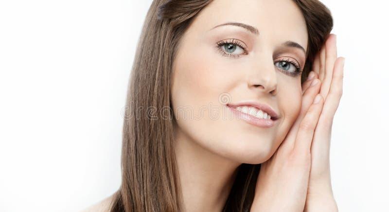 Download Beleza da mulher imagem de stock. Imagem de modelo, consideravelmente - 12805235
