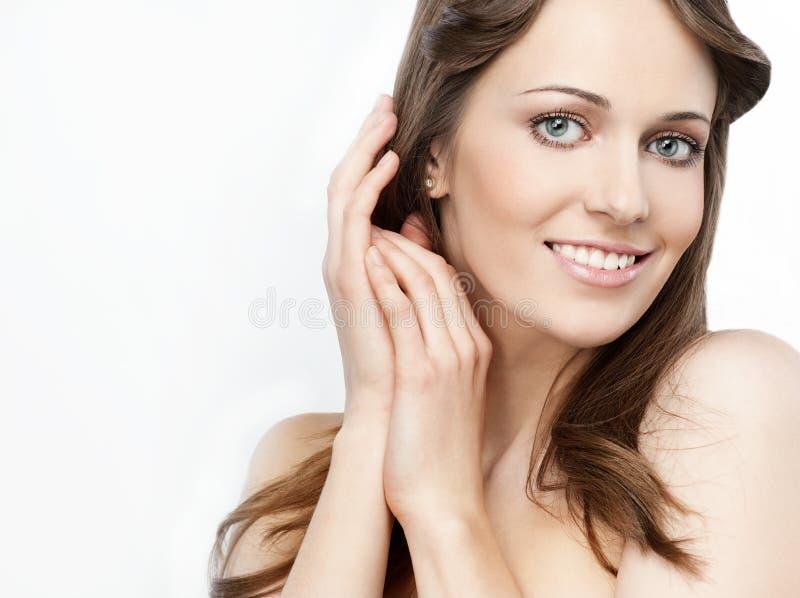 Download Beleza da mulher foto de stock. Imagem de beleza, menina - 12805256