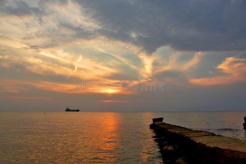 A beleza da natureza com por do sol 2 fotos de stock royalty free