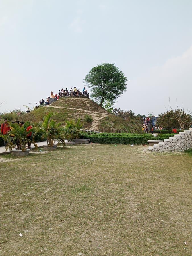 Beleza da natureza Natore, Bangladesh, imagem de stock royalty free