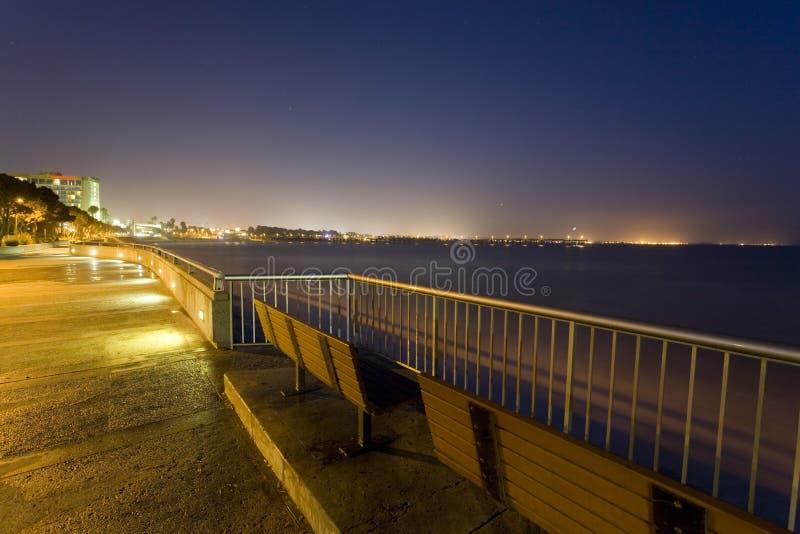 Beleza da noite do oceano imagem de stock royalty free
