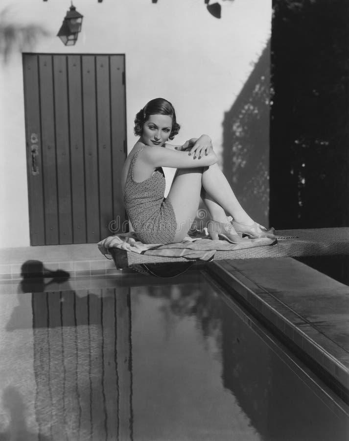 Beleza da piscina fotos de stock