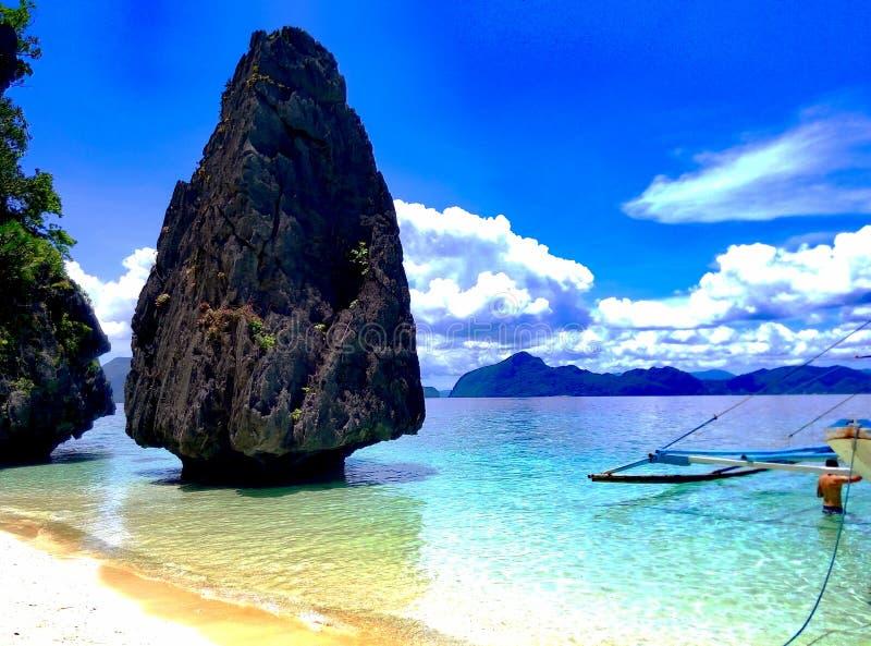 Beleza da praia imagem de stock