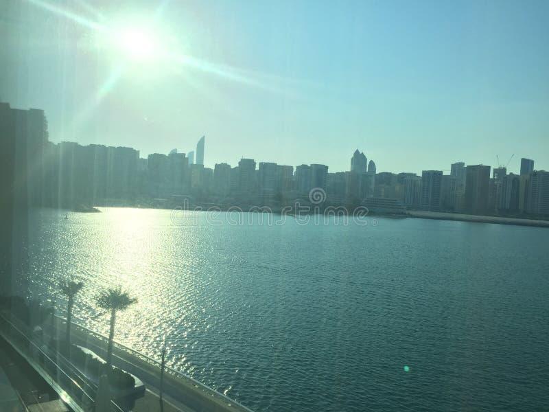 Beleza de Abu Dhabi fotos de stock